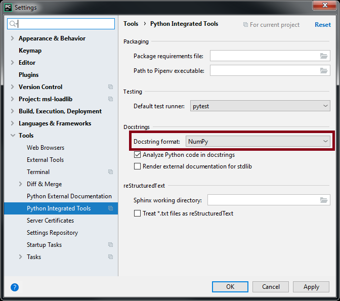 MSL Developers Guide — MSL-Package-Manager 2 4 0 dev0